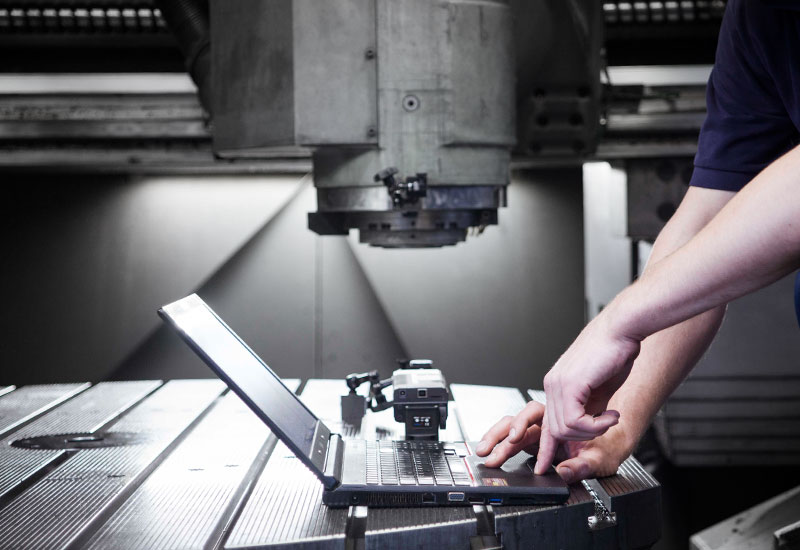 CNC Service-glasmassstab-kompensieren